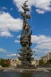 Peter das erste Monument Lizenzfreies Stockbild