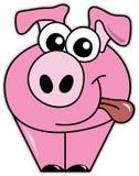 Peter das Schwein Lizenzfreie Stockfotografie