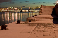 Peter de Grote brug stock fotografie