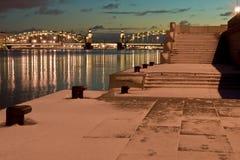 Peter der Große-Brücke Stockfotografie