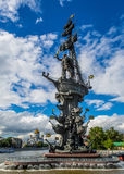 Peter der Große-Denkmal Stockfotografie