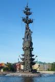 Peter der Große-Monument Stockbilder