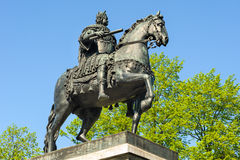 Peter der Große-Monument, St Petersburg, Russland Lizenzfreie Stockbilder