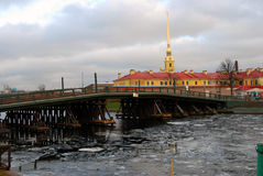 Peter e Paul Fortress a St Petersburg, Russia Fotografia Stock