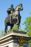 Peter el gran monumento, St Petersburg, Rusia Imágenes de archivo libres de regalías