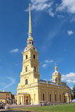 Peter en Paul Cathedral Stock Afbeeldingen