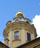 Peter en Paul Cathedral, St. Petersburg, Rusland stock foto