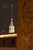 Peter en Paul Fortress Royalty-vrije Stock Afbeelding