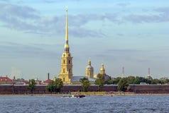 Peter en Paul Fortress, Heilige Petersburg Stock Afbeeldingen