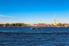 Peter en Paul Fortress. Heilige-Petersburg. Rusland stock afbeeldingen
