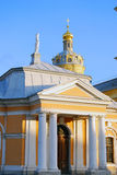 Peter en Paul Fortress in heilige-Petersburg, Rusland Stock Foto