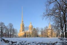 Peter et cathédrale de Paul Photo libre de droits