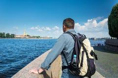Peter et cathédrale de Paul, St Petersburg, Russie Photographie stock