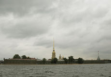 Peter et forteresse de Paul, St Petersburg Photographie stock