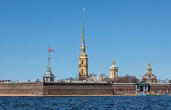 Peter et forteresse de Paul, St Petersburg Photo libre de droits