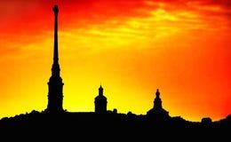 Peter et la cathédrale de Paul, St Petersburg, Photos stock