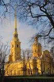 Peter et Paul Fortress à St Petersburg, Russie Photo libre de droits