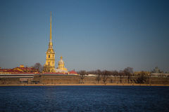 Peter et Paul Fortress Images libres de droits