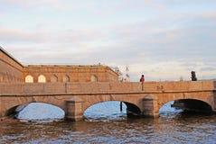 Peter et Paul Fortress à St Petersburg, Russie Photographie stock