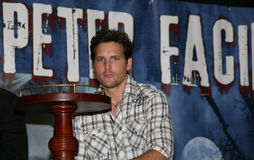 Peter Facinelli der Twilight Saga Lizenzfreie Stockfotos