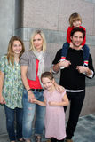 Peter Facinelli,Eve,Jennie Garth,Jenny Garth Royalty Free Stock Photo