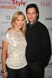 Peter Facinelli, Jennie Garth Stock Photo