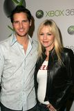 Peter Facinelli,Jennie Garth Stock Images