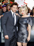 Peter Facinelli and Jennie Garth Royalty Free Stock Photos