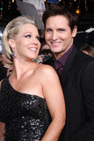 Peter Facinelli, Jenny Garth Photos libres de droits