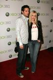 Peter Facinelli,Jenny Garth Royalty Free Stock Photography