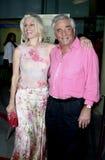 Peter Falk en Shera Danese Royalty-vrije Stock Foto's