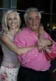 Peter Falk and Shera Danese Stock Photo