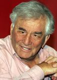 Peter Falk. Television and film actor Peter Falk participates in a press conference in New York City on April 29, 2005, at the 4th Annual Tribeca Film Festival Royalty Free Stock Photo