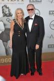 Peter Fonda y Margaret DeVogelaere Foto de archivo