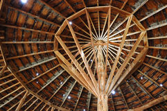 Peter French Round Barn Royalty-vrije Stock Fotografie