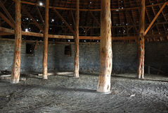 Peter French Round Barn Royalty Free Stock Images