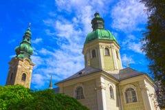 Peter-Friedhof in Salzburg Lizenzfreies Stockbild
