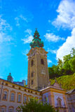 Peter-Friedhof in Salzburg Lizenzfreie Stockfotografie