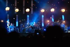 Peter Gabriel στη συναυλία στοκ φωτογραφία με δικαίωμα ελεύθερης χρήσης