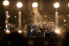 Peter Gabriel in Concert Stock Photo