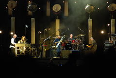 Peter Gabriel in Concert Royalty Free Stock Image