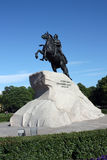 Peter the Great. Monument to Russian emperor Peter the Great Royalty Free Stock Photography