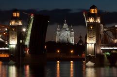 Peter The Great Bridge Photos libres de droits