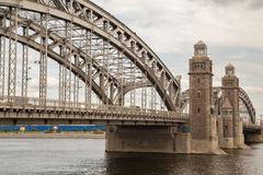 Peter the Great bridge Stock Image
