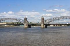 Peter the Great Bridge Stock Photos