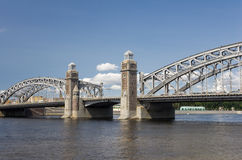 Peter the Great Bridge Stock Image