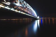 Peter The Great Bridge, St Petersburg, Rússia fotos de stock