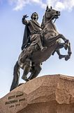 Peter the Great, Bronze Horseman Royalty Free Stock Images