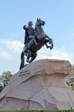 Peter the Great Royalty Free Stock Photography