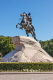 Peter the Great Monument Royalty Free Stock Images